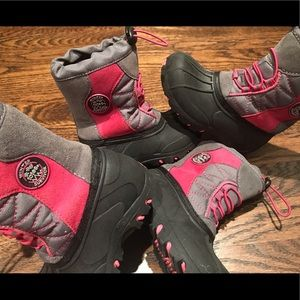 totes Toddler Girl Snow Boots